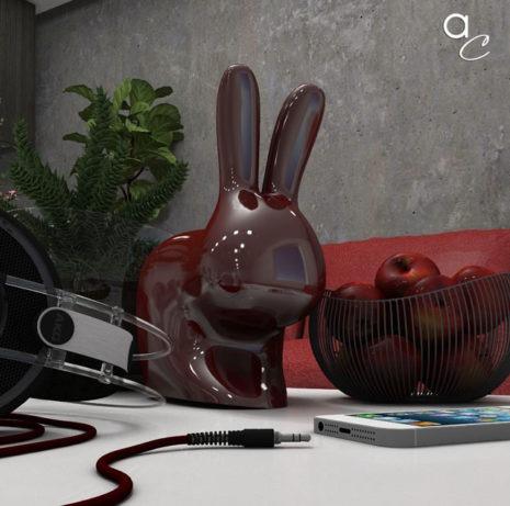 Scène 3D_Thème : «The Rabbit» (Modèle Sketchup + Render Artlantis 2019)