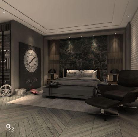 Scène 3D_Thème : «Détente Chambre» (Modèle Sketchup + Render Artlantis 2019)