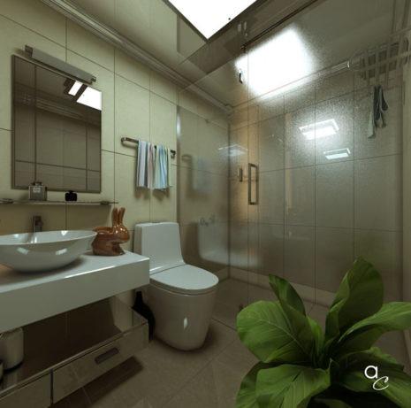 Scène 3D_Thème : «Détente Salle de Bains» (Modèle Sketchup + Render Artlantis 2019)