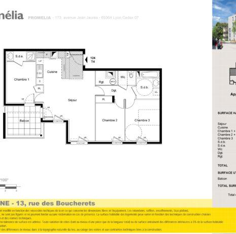 Détails Techniques_Plan de vente-Villeurbanne_PROMELIA immobilier