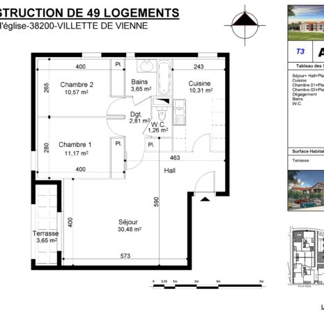 Détails Techniques_Plan de vente-Villette de Vienne