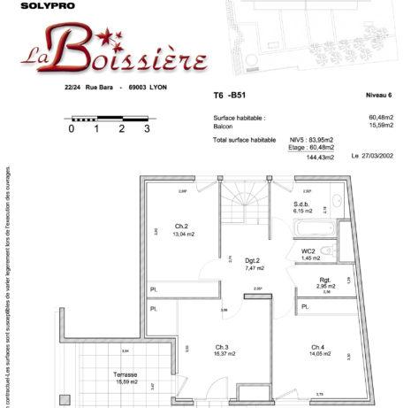 Détails Techniques_Plan de vente-La Boissière_SOLYPRO