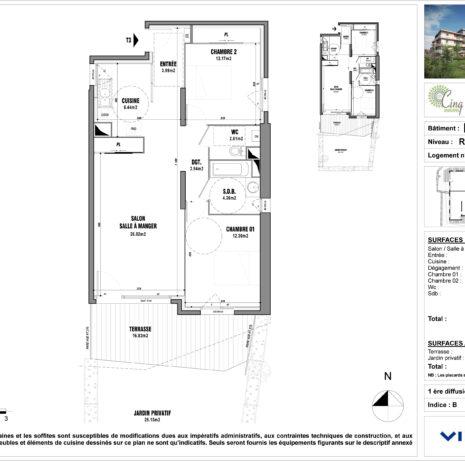 Détails Techniques_Plan de vente-Les Cinq Jardins_VINCI immobilier