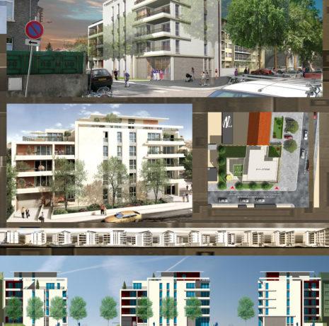 Présentation_Immeuble de Logements_69100-Villeurbanne