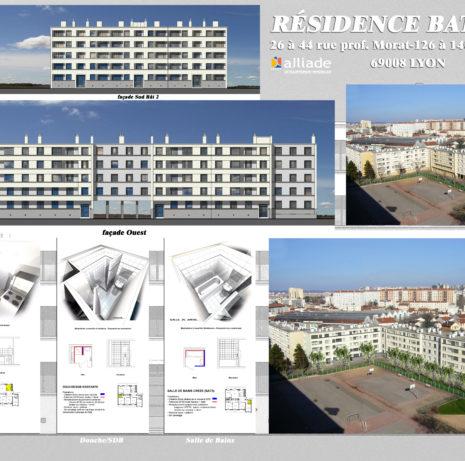 Présentation_Réhabilitation ensemble immobilier-69008-Lyon