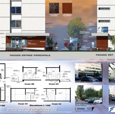 Présentation_Rénovation Entrée_69100-Villeurbanne