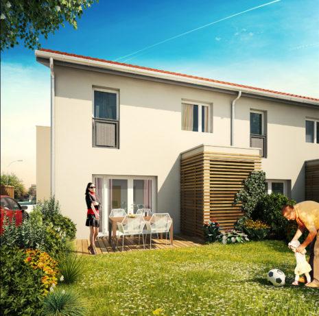 Maisons Individuelles_69150 Décines Charpieu