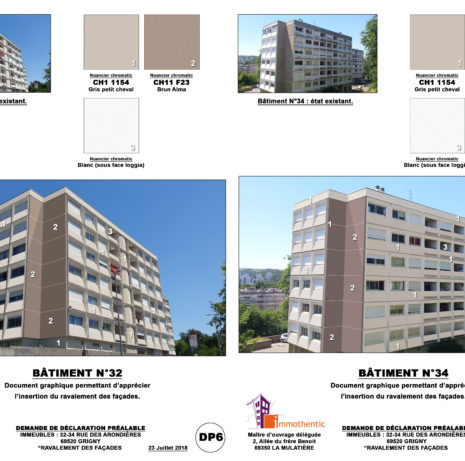 Photomontage_Ravalement de façades