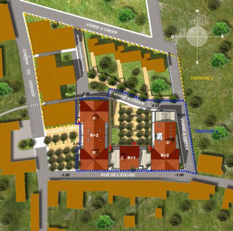 Plan de masse 2D_38200_Villette de Vienne