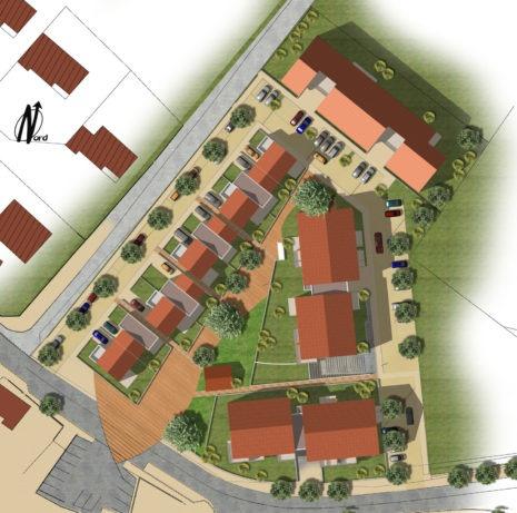 Plan de masse 2D_01700_Les Echets