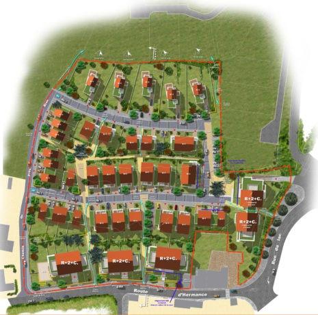 Plan de masse 2D_74140_Chens-sur-Léman